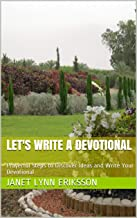 Book on how to write a devotional