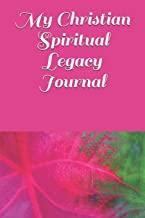 Christian spiritual legacy journal